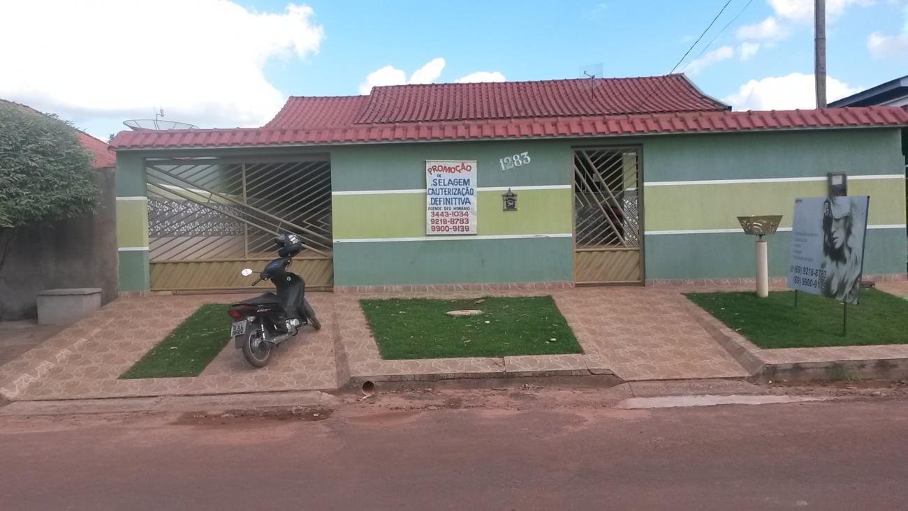 casa, visanta alegre, cacoal ro, 360 m2 - local do imovel classificados