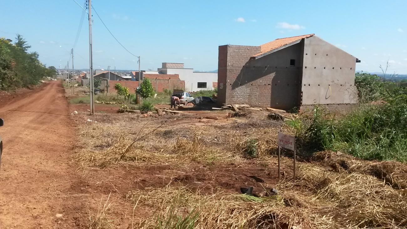 terreno, embratel, cacoal ro, 417 m2 - local do imovel classificados